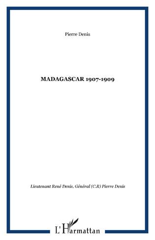 Couverture MADAGASCAR 1907-1909