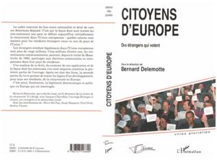 Couverture Citoyens d'Europe