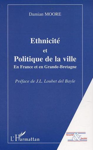 Couverture Ethnicité et politique de la ville