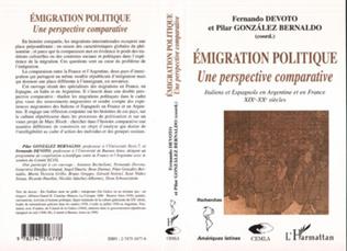 Couverture ÉMIGRATION POLITIQUE