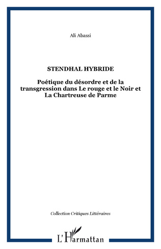 Couverture STENDHAL HYBRIDE
