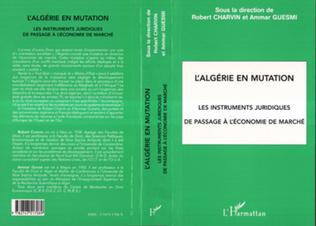 Couverture L'ALGÉRIE EN MUTATION