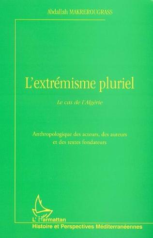 Couverture L'EXTRÉMISME PLURIEL