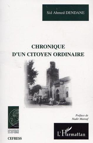 Couverture CHRONIQUE D'UN CITOYEN ORDINAIRE