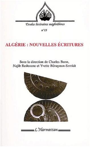 Couverture ALGÉRIE : NOUVELLES ÉCRITURES