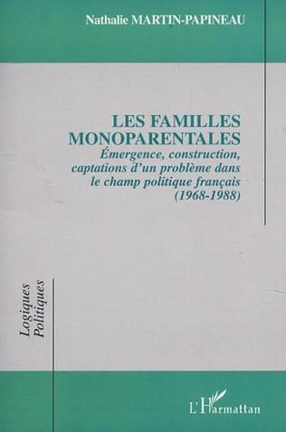 Couverture LES FAMILLES MONOPARENTALES
