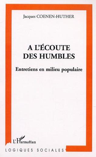 Couverture A L'ÉCOUTE DES HUMBLES
