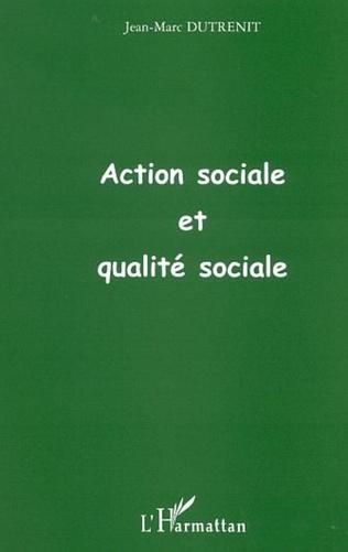 Couverture ACTION SOCIALE ET QUALITÉ SOCIALE