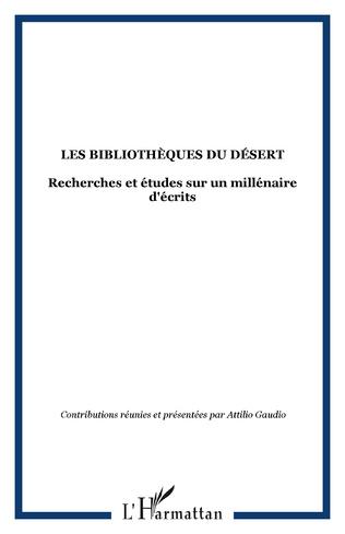 Couverture LES BIBLIOTHÈQUES DU DÉSERT