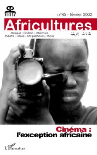 Couverture Cinéma : l'exception africaine