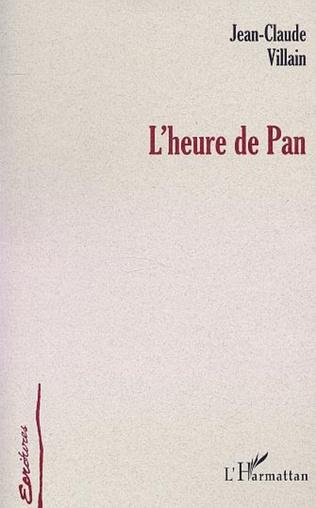 Couverture L'HEURE DE PAN