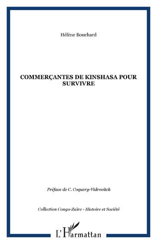 Couverture COMMERÇANTES DE KINSHASA pour survivre