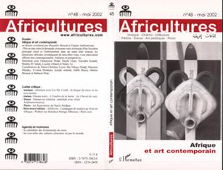 Couverture Afrique et art contemporain