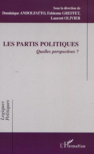Couverture LES PARTIS POLITIQUES