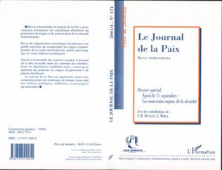 Couverture APRÈS LE 11 SEPTEMBRE : LES NOUVEAUX ENJEUX DE LA SÉCURITÉ