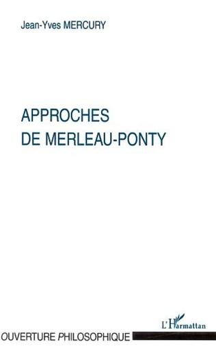 Couverture APPROCHES DE MERLEAU-PONTY