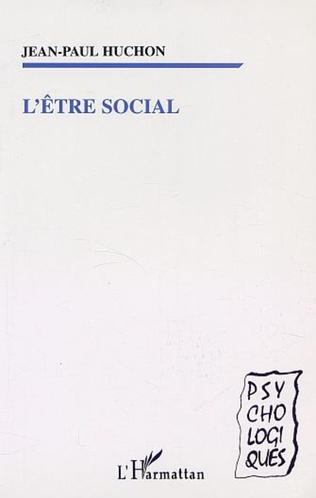 Couverture L'ÊTRE SOCIAL