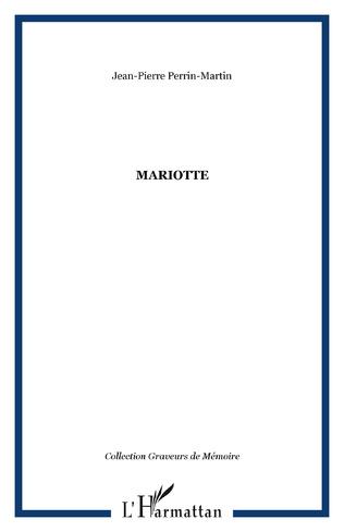 Couverture MARIOTTE