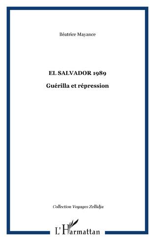 Couverture EL SALVADOR 1989