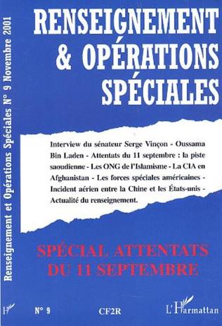 Couverture SPECIAL ATTENTATS DU 11 SEPTEMBRE