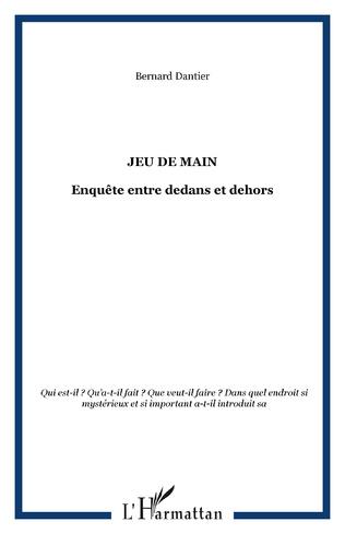 Couverture JEU DE MAIN