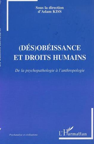 Couverture (DÉS)OBÉISSANCE ET DROITS HUMAINS