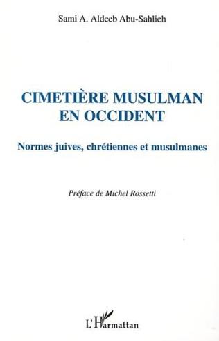Couverture CIMETIÈRE MUSULMAN EN OCCIDENT