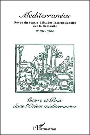 Couverture GUERRE ET PAIX DANS L'ORIENT MÉDITERRANÉEN