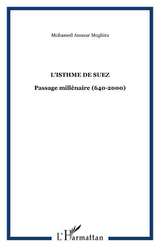 Couverture L'ISTHME DE SUEZ