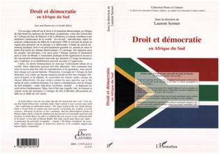 Couverture DROIT ET DÉMOCRATIE EN AFRIQUE DU SUD