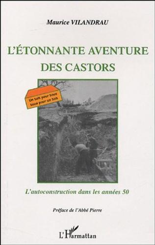 Couverture L'ÉTONNANTE AVENTURE DES CASTORS