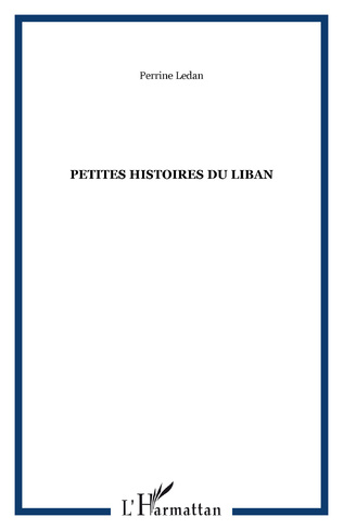 Couverture PETITES HISTOIRES DU LIBAN