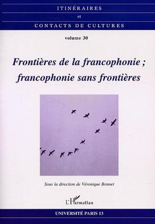Couverture Frontières de la francophonie