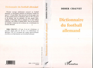 Couverture DICTIONNAIRE DU FOOTBALL ALLEMAND