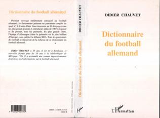 Couverture DICTIONNAIRE DU FOOTBALL ALLEMAND