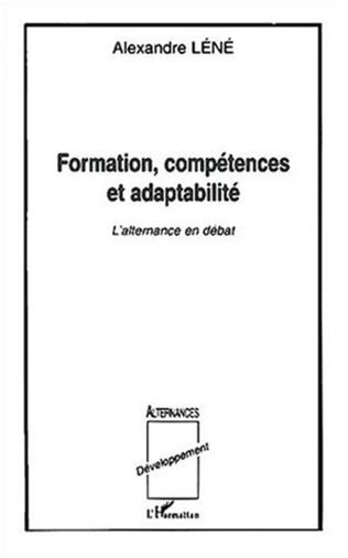 Couverture FORMATION, COMPÉTENCES ET ADAPTABILITÉ