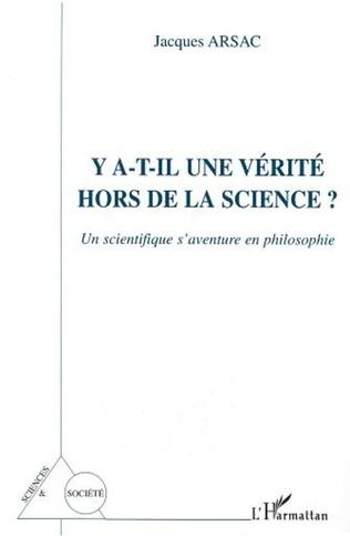 Couverture Y A-T-IL UNE VÉRITÉ HORS DE LA SCIENCE ?