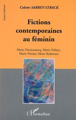 Couverture FICTIONS CONTEMPORAINES AU FEMININ