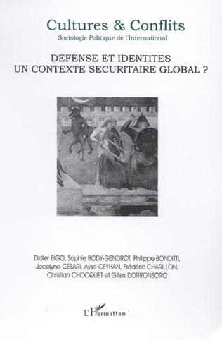 Couverture DÉFENSE ET IDENTITÉS, UN CONTEXTE SÉCURITAIRE GLOBAL ?