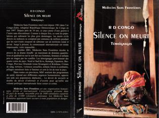 Couverture R D CONGO SILENCE ON MEURT