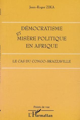 Couverture DÉMOCRATISME ET MISÈRE POLITIQUE EN AFRIQUE