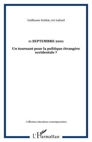 Couverture 11 SEPTEMBRE 2001