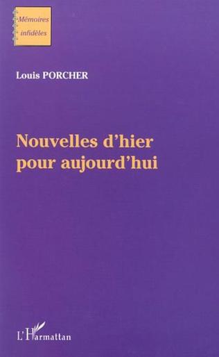 Couverture NOUVELLES D'HIER POUR AUJOURD'HUI