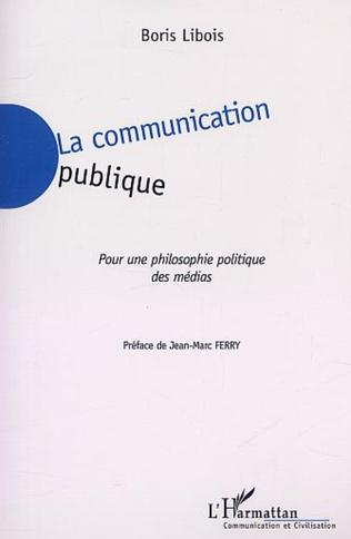 Couverture LA COMMUNICATION PUBLIQUE