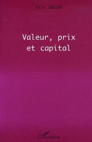 Couverture VALEUR, PRIX ET CAPITAL