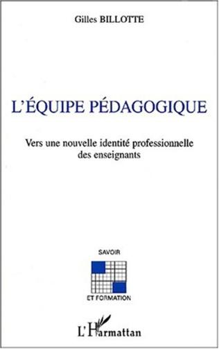 Couverture L'ÉQUIPE PÉDAGOGIQUE