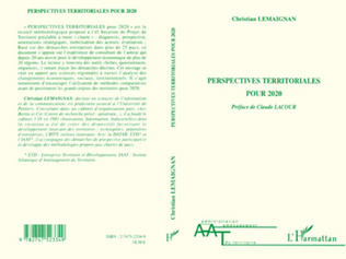 Couverture PERSPECTIVES TERRITORIALES POUR 2020