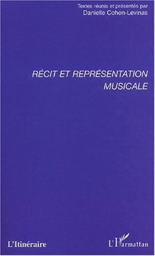 Couverture RÉCIT ET REPRÉSENTATION MUSICALE