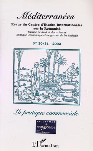 Couverture LA PRATIQUE COMMERCIALE (n°30-31)