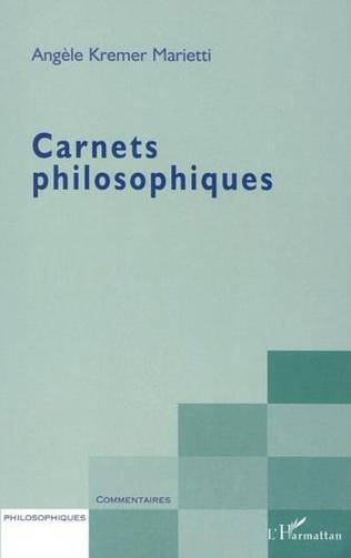 Couverture CARNETS PHILOSOPHIQUES
